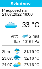 Počasí Sviadnov - Slunečno.cz