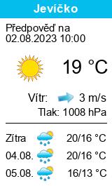 Počasí Jevíčko - Slunečno.cz