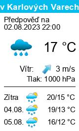 Počasí Karlovy Vary